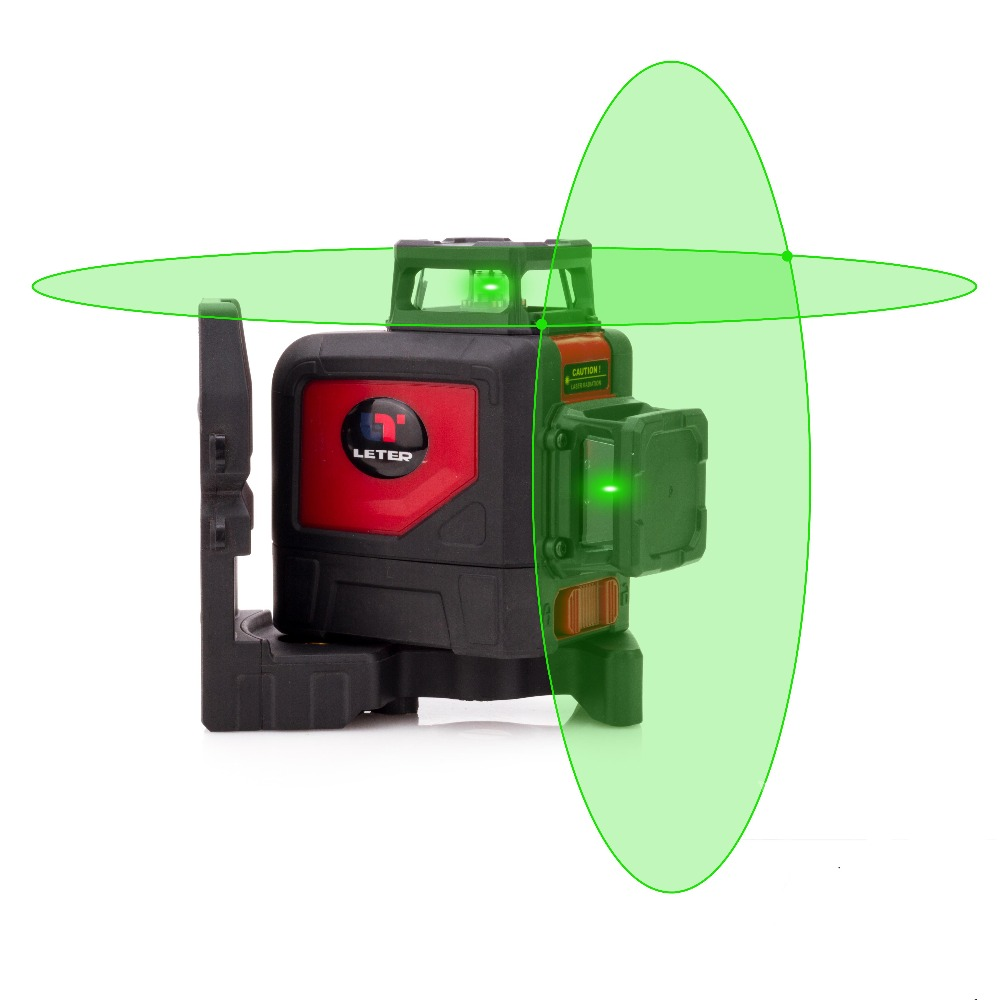 NOVA linha Cruzada autonivelante LETER 360 graus linha Verde do laser linha de laser nível a laser