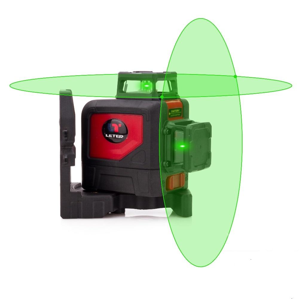 Новый Leter Крест линии самовыравнивающая 360 градусов лазерной линии зеленая линия лазерный уровень