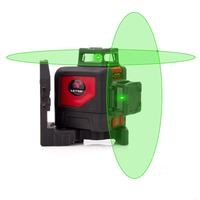 NUOVO LETER Croce linea Self leveling 360 gradi linea laser linea Verde laser level laser