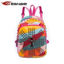 Women Backpack 100 Real Sheepskin High Quality Youth Genuine Leather Backpacks for Teenage Girls Female Shoulder