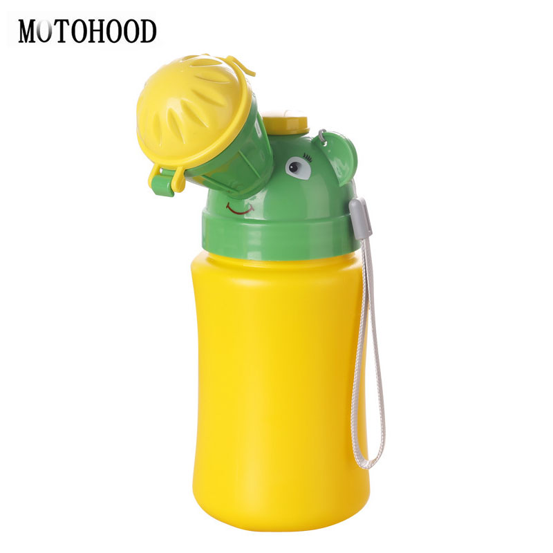 MOTOHOOD Wc Portatil Camping Boys Potty Training Baby Toilet For Kids Cartoon Travel Potty Orinal Portable Toilet Bottles