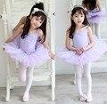 Retail Ballet Calls professional ballet skirt ballet tutu skirt dance dress  Retail New Girls Kids Long Sleeve Pink Leotard