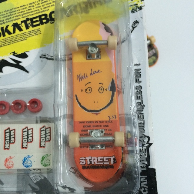 Alloy Stand FingerBoard Mini Finger Boards With Retail Box
