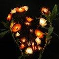 Nueva led flor luz de la lámpara del arte moderno hogar decoración artística clásica adornos guirnalda apliques de iluminación de interior us enchufe de la ue