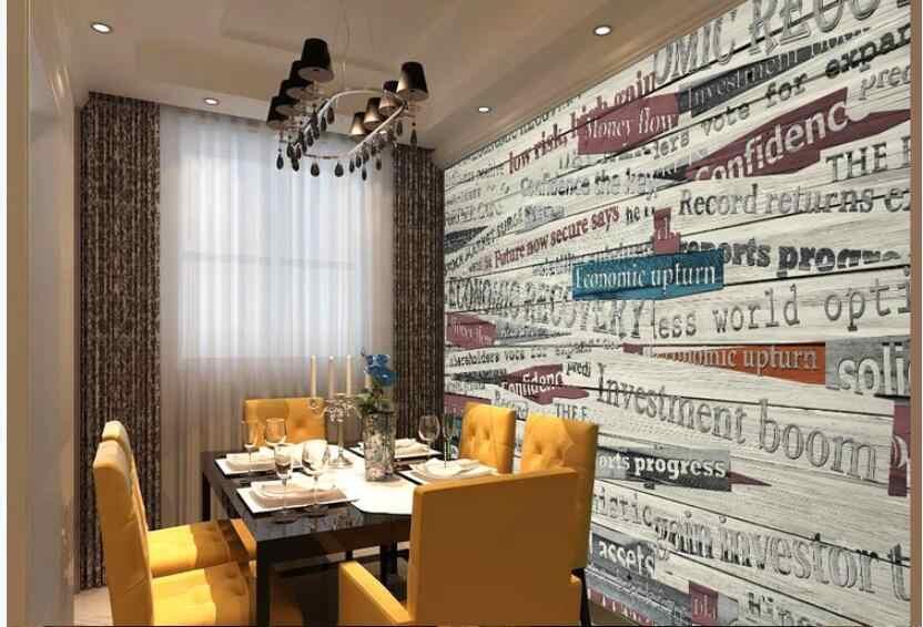 Пользовательские фото 3d обои ретро Ностальгический плакат для кафе ТВ фон стены в комнате домашний Декор 3d настенные фрески обои для стен 3 d