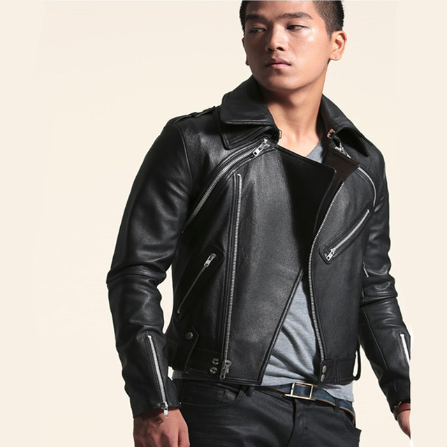 Men Fashion Leather Jacket - Jacket