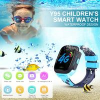 Y95 High quality Children's Smart Watch HD Video Call 4G Full Netcom With AI Payment WiFi Chat GPS Positioning Watch For Kids