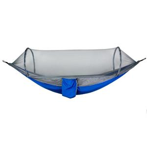 Image 4 - OEM New pattern fully automatic quick open Portable Parachute Nylon Outdoor mosquito net camping hiking hammock