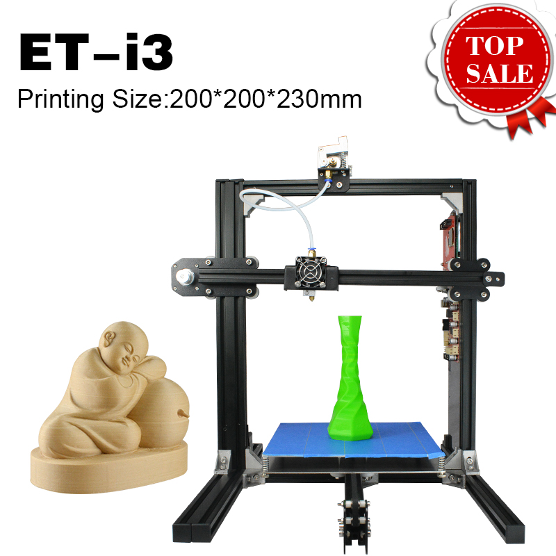 2017 Hot Selling DIY Model Digital 3D Printer High Precision Filament Auto Feeding Metal Frame Dual Nozzle heads Education Use
