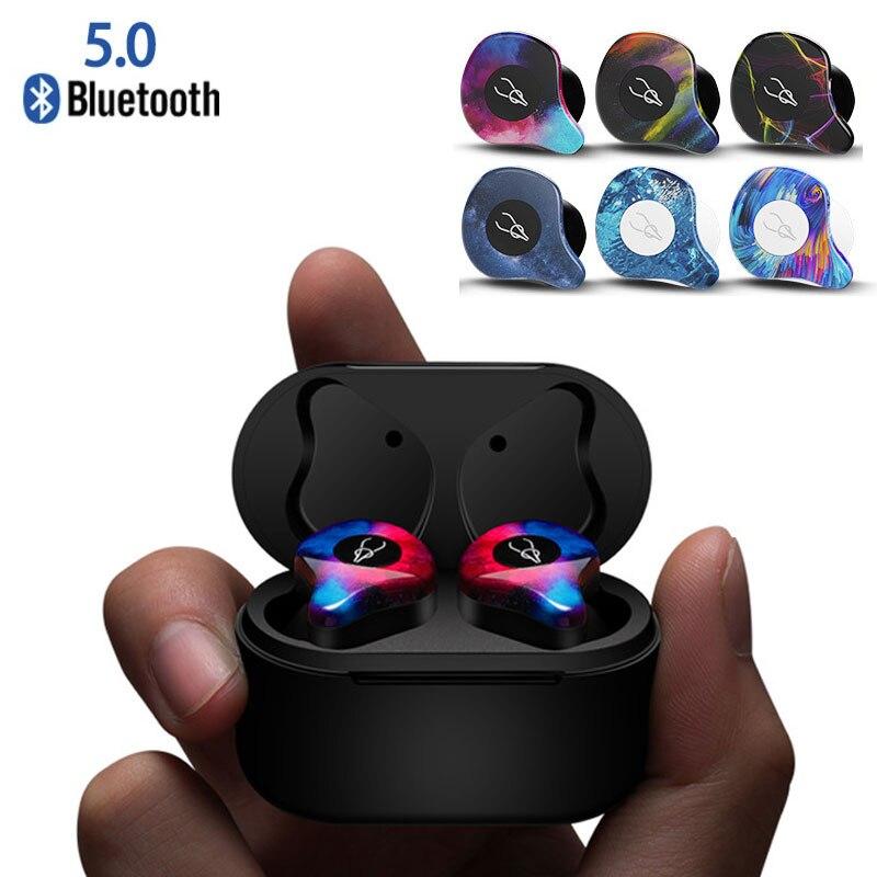 Шабаш X12 Pro Bluetooth 5,0 наушники мини Близнецы Невидимый True Беспроводной IPX5 Водонепроницаемый спортивные наушники с зарядки Box 750 мАч
