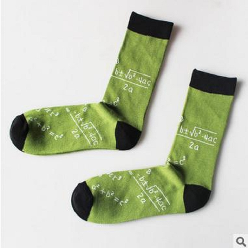 2018 Sale Men Socks Calcetines Hombre Casual New European And American Personality Cotton Mens Letters In The Tube Socks