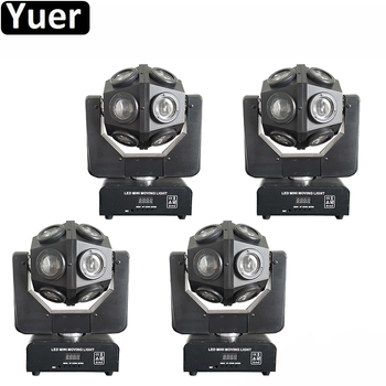 4Pcs/Lot DJ Equipment 12x10W RGBW 4IN1 LED Beam Moving Head Light DMX 512 Control Party Music Disco Stage Moving Head Lights exponentially weighted moving average control chart