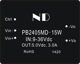 цена на 1pcs dc dc step down converter 9V18V24v36v to 5v 3a dcdc power module supply quality goods free shipping