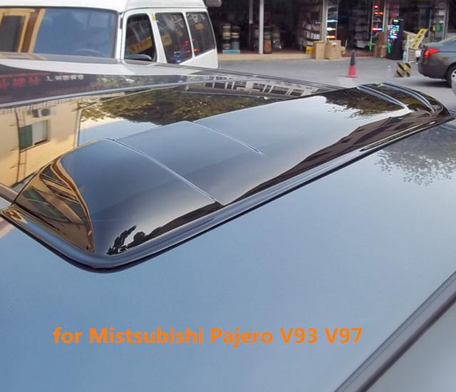 Techo solar lluvia deflectores tiempo gruard shdows Acrílico escudos para Mistsubishi Pajero V93 V97