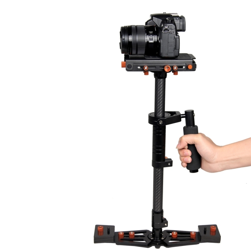 Lightdow S800 31.5 Professional Handheld Stabilizer Carbon Fiber Camera Steadicam for Canon Nikon Sony DSLR Cameras Camcorder sf 04 mini handheld carbon fiber video camera stabilizer grip with quick release plate for sony pentax canon nikon dslr cameras