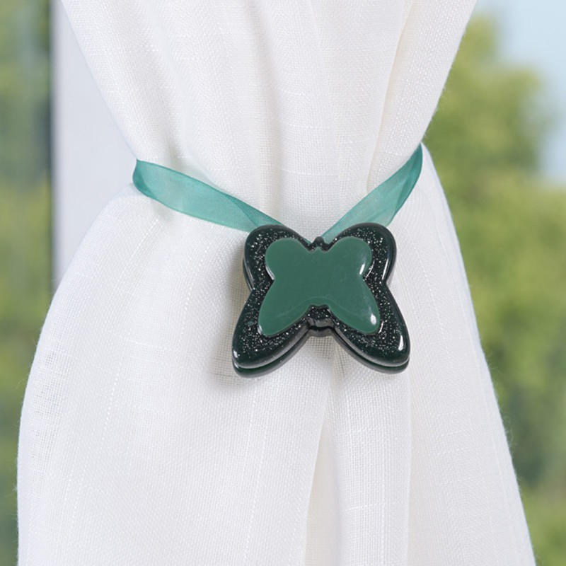 Curtain Tie backs Buckle Holder Round Curtains Holdback Window Accessories Home tassels Decoration Tieback Magnetic