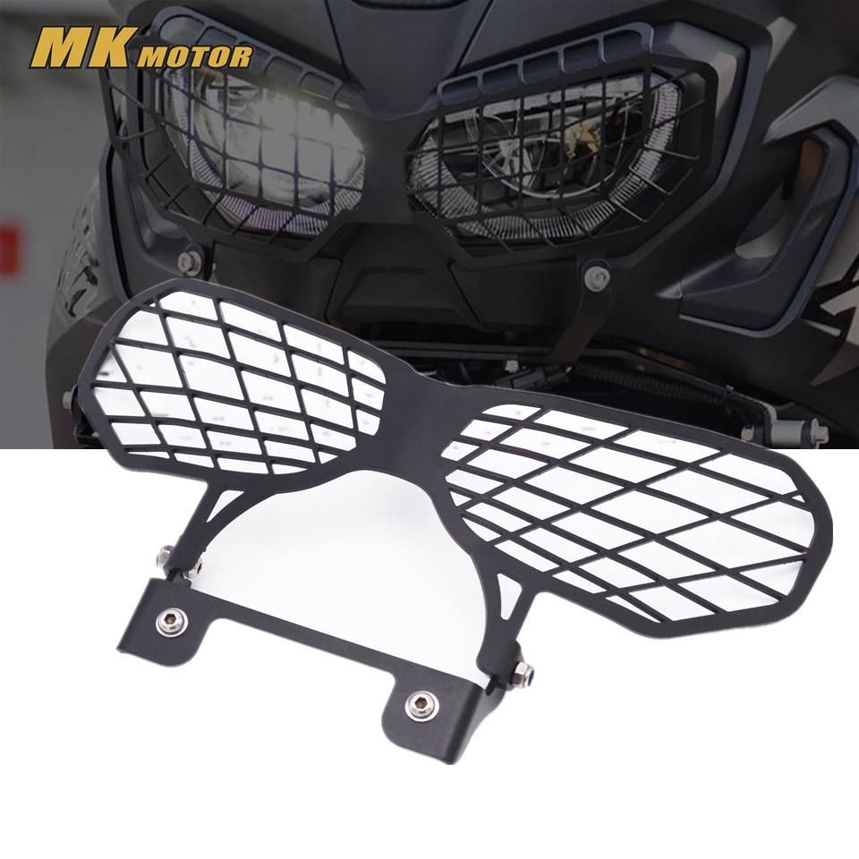 CRF1000L Motorcycle Accessories Headlight Lens Guard Protector for Honda 2016 CRF 1000L Africa Twins protection motorcycle handlebar riser for honda crf 1000l 2016 17 africa twins 30mm handle bar risers handle bar clamp africa twin crf1000l