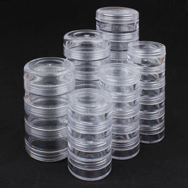 Sale Empty Box 4/5/6 Layer Box Transparent Simple And Convenient For Crystal Beads Nail Art Accessories Tools Free Shipping
