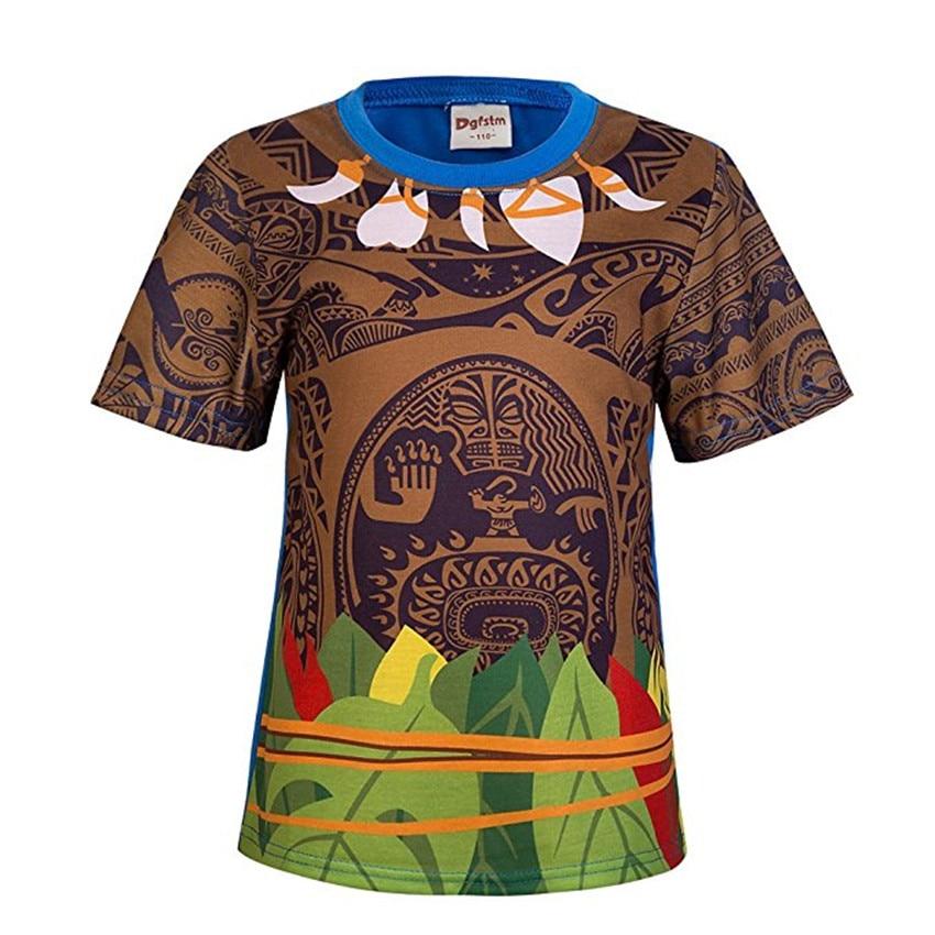 Kūdikių mergaičių drabužių komplektai Moana Maui kostiumai - Vaikų apranga - Nuotrauka 6