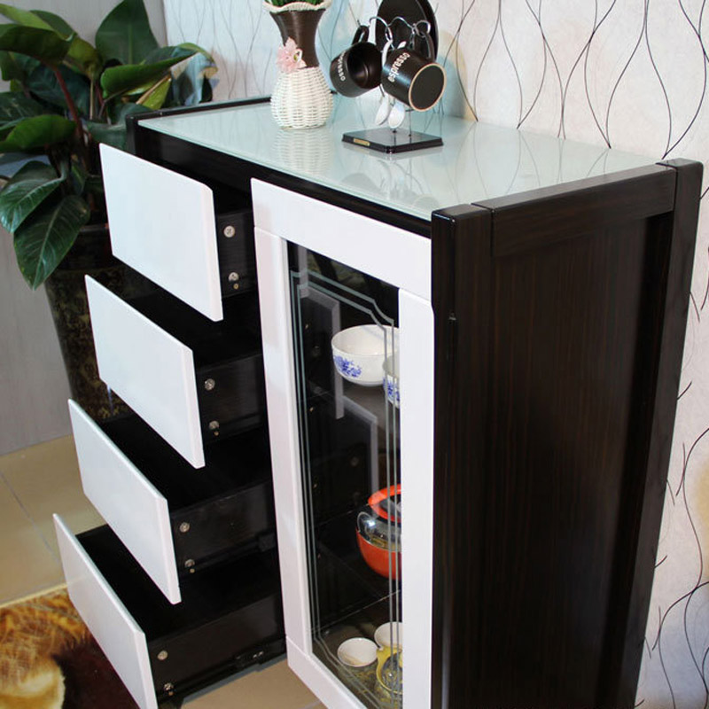 Modern Restaurants Storage Cabinets Dining Room Tea Glass Sideboard Cabinet  Modern Minimalist Furniture Sideboard S1 In Sideboards From Furniture On ...