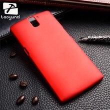 TAOYUNXI Plastic Phone Case For OnePlus One OnePlus1 OnePlus A0001 A1000 A1001 5.5 inch Plastic Matte Housing Bag Cover Skin
