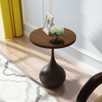Retro small round several small round table painted American country Coffee Table Furniture Side Table Metal Table