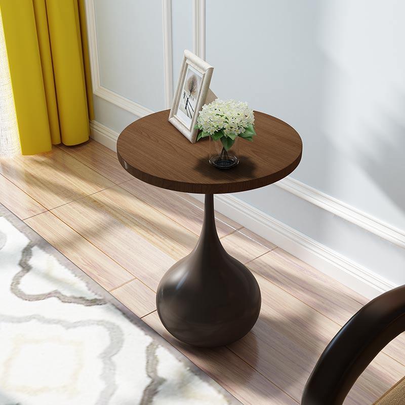 Painted Retro Coffee Table: Retro Small Round Several Small Round Table Painted
