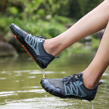 Rommedal Summer adult Unisex hiking shoes outdoor men climbing women quick-dry water sneakers breath mesh footwear female