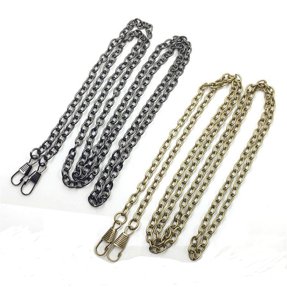 O Type 120cm Accessories For Bags Metal Chain Purse Buckles Shoulder Bags Straps Shoulder Crossbody Bag Parts