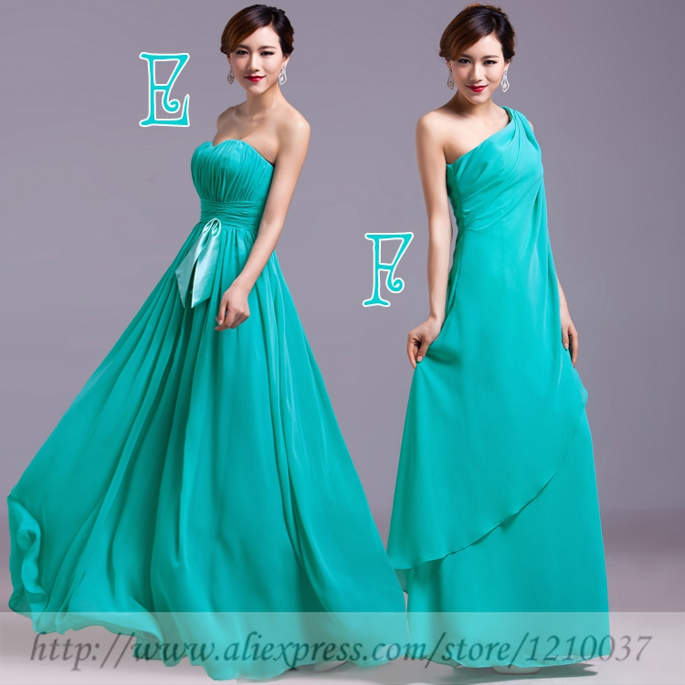 Jc star turquoise mint green purple gold coral sexy for Mint and gold wedding dress