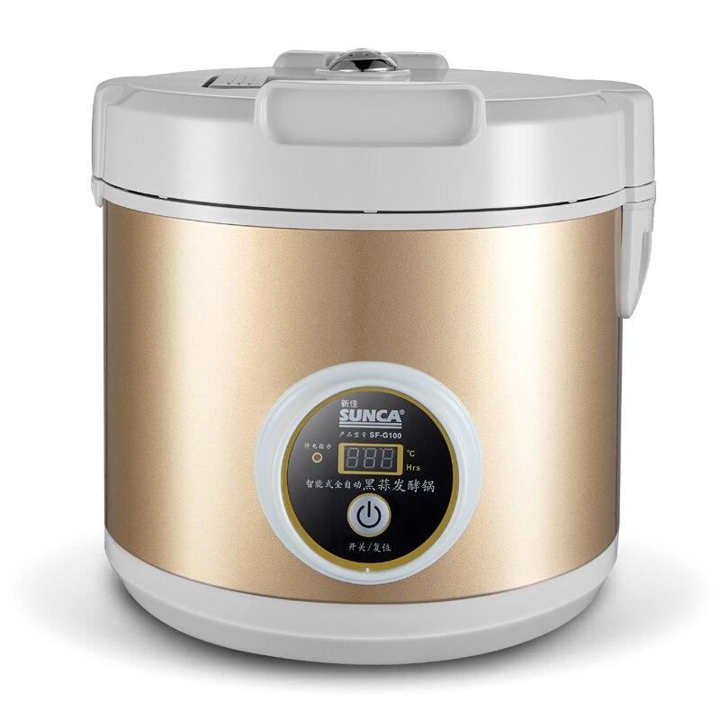 Бесплатная доставка 5l емкость 90 Вт питания все интеллектуальные черный Закваска Машина чеснок зараза машины Техника для кухни робот Инструменты