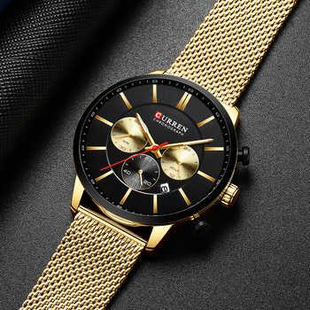 CURREN Watch Men Fashion Business Watches Men\'s Casual Waterproof Quartz Wristwatch Blue Steel Clock Relogio Masculino