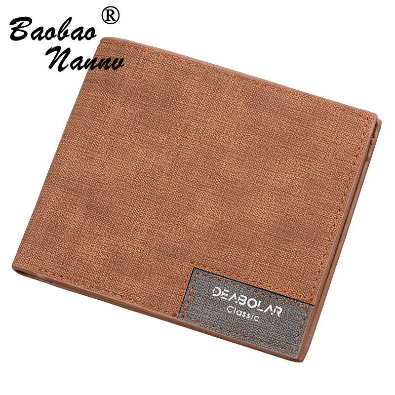 Vintage Leather Men Wallets Fashion Coin Pocket Brand Design Short Men Purse High Quality Male Card ID Holders Clutches Bag
