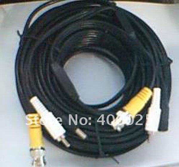 Power cable and Video cable and  Audio cable for Camera system BNC connector and RCA connector and DC connect for analog camera bnc м клемма каркам