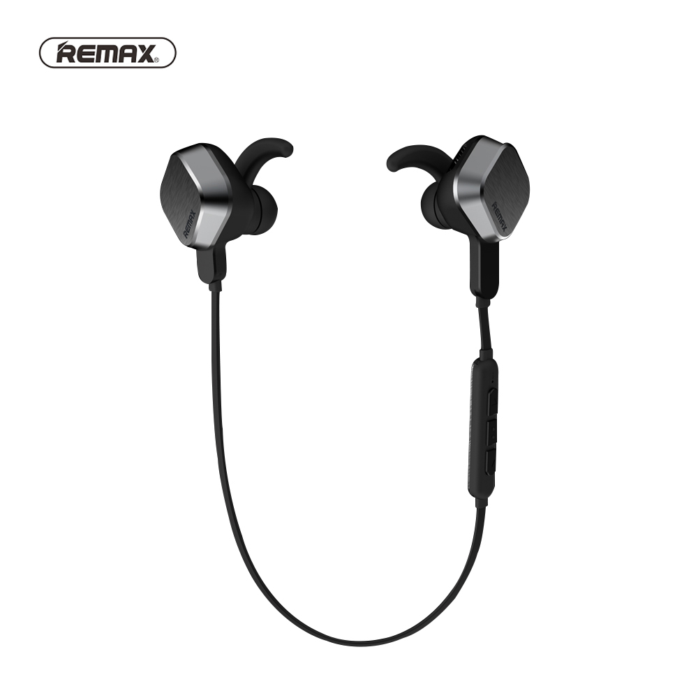 Remax S2 Magnet Sports Bluetooth Headset Wireless White Earphone with Mic Music Clear Volume+ Original package For Android IOS siroflo x18 magnet metal sports bluetooth earphone