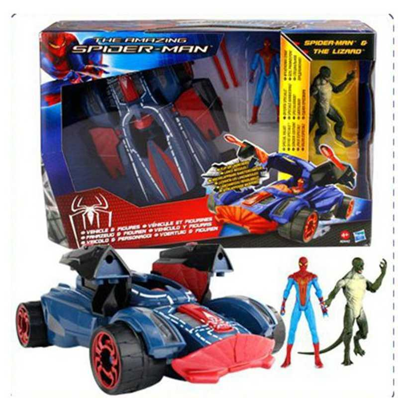 The <font><b>Amazing</b></font> <font><b>Spider-man</b></font> <font><b>Lizard</b></font> Spider Strike Vehicle <font><b>Figures</b></font> Spiderman PVC <font><b>Action</b></font> <font><b>Figure</b></font> Collectible Model Toy