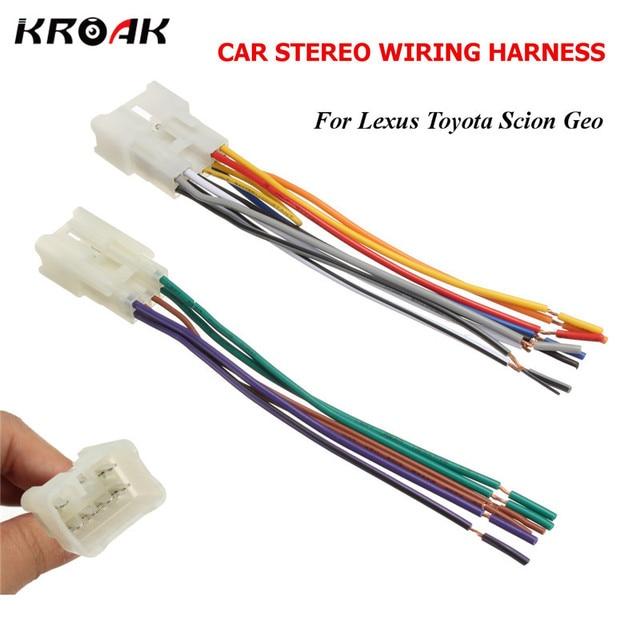 KROAK Car Audio Stereo Radio CD Player Wiring Harness DVD Adapter