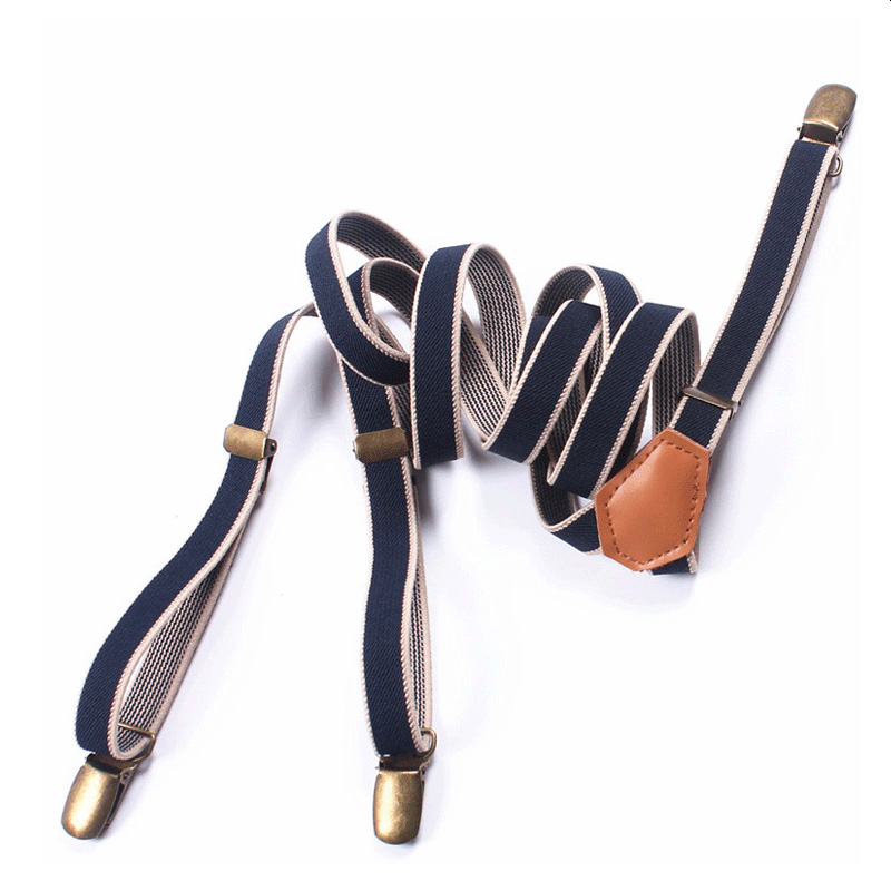 New Men Women Black Adjustable Clip-on Suspender Elastic YShape Buy 2 Get 1 FREE Keep your formal style grounded in classic black with these stretchy suspenders — an easy match with patterned shirts and multicolored ties.