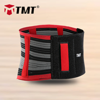 TMT Adjustable Elastic Waist Support Belt Lumbar Back Support Fitness Sports Exercise Brace Belts Waist Trainer men women