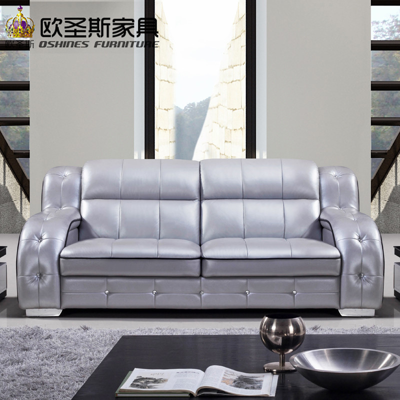 Modern Comfortable Sofa: 2019 New Esign Italy Modern Leather Sofa Soft Comfortable