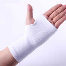 High quality white tennis volleyball hand wrist palm support braces pads free shipping #ST6803