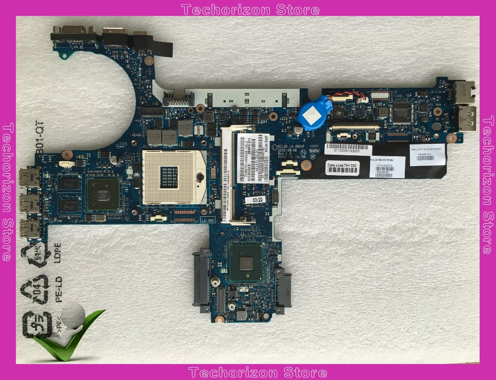 Top quality ,KCL00 LA-4901P For <font><b>HP</b></font> laptop mainboard <font><b>8440P</b></font> 8440W 594026-001 laptop <font><b>motherboard</b></font>,100% Tested 60 days warranty image