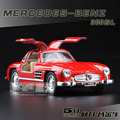 1:36 Mercedes Benz 300SL Alloy Sports Car Model High Simulation Exquisite Baby Toys KiNSMART Car Styling Model Excellent Gifts