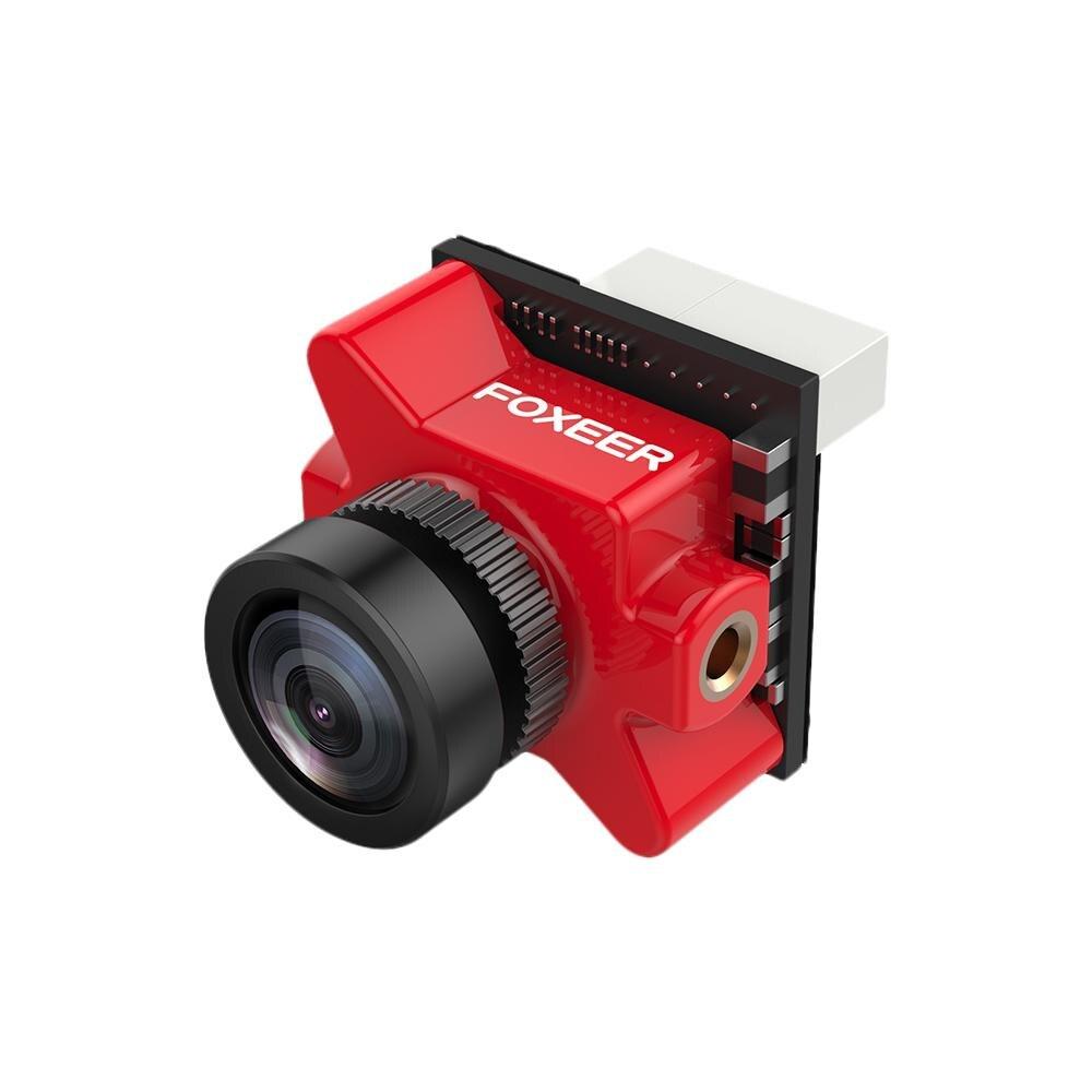 Foxeer Micro Predator 4 Camera 1000TVL OSD Super WDR 4mm Latency FPV Racing Pad Connector 16:9 Pal/NTSC Switchable
