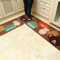 Kitchen Rugs Mat Living Room Carpet Anti Slip Home Door Floor Rugs Outdoor Rectangle 2 Pieces/Set set alfombras para cocina
