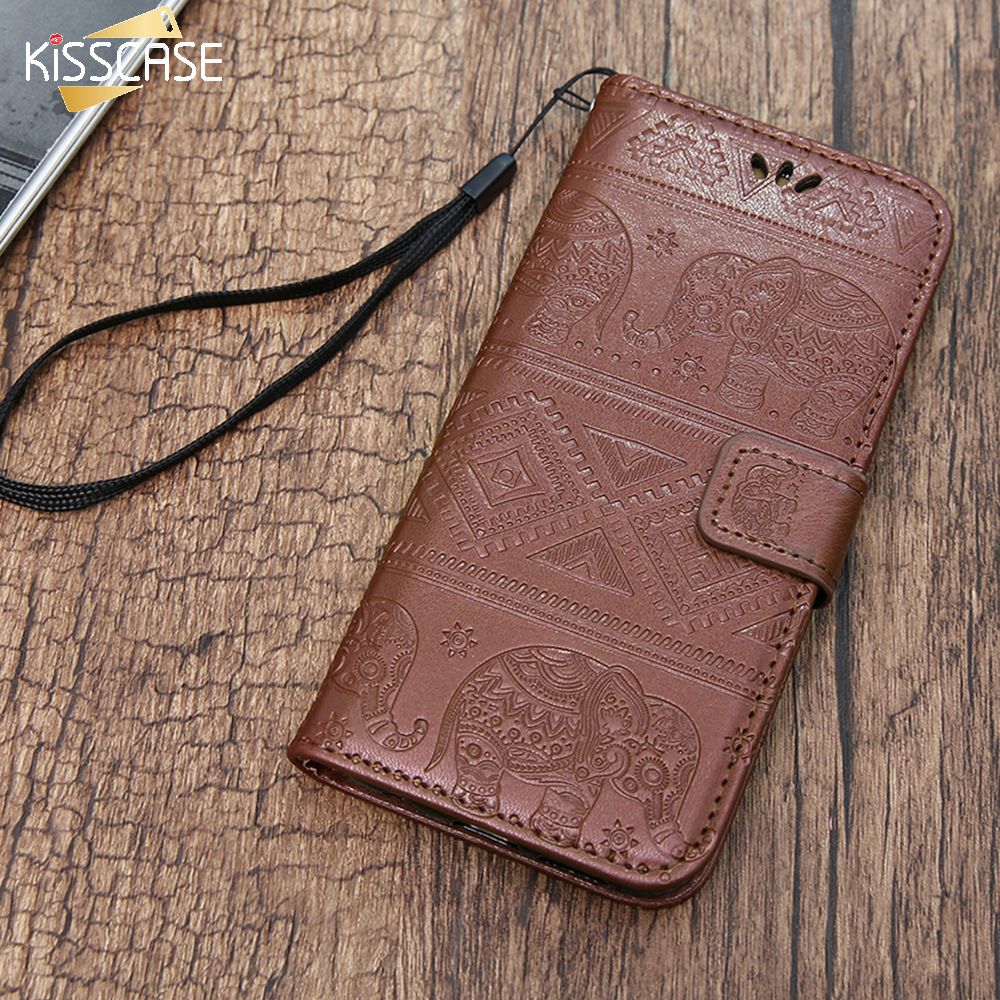 iphone 8 elephant flip case