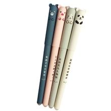 30ชิ้น/ล็อต0.35มม.น่ารักหมีแพนด้าเมาส์หมีErasable GelปากกาRollerballปากกาของขวัญเครื่องเขียนโรงเรียนOffice Supplyขายส่ง