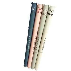 Image 1 - Ручки гелевые со стираемыми медведями, 30 шт./лот, 0,35 мм