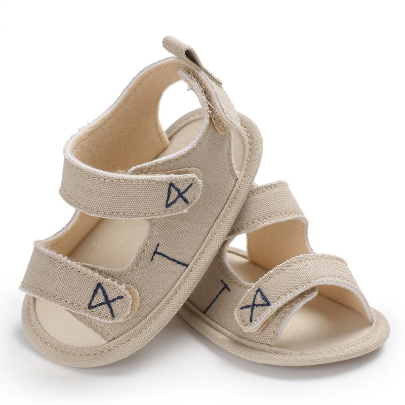 0-18 Months Infantborn Baby Boy Girl Shoes Summer Toddler Soft Sole Canvas Pram Shoes
