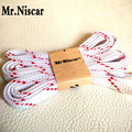 Mr.Niscar 5 Pair Men Women Kids Fashion Flat Shoelaces 100cm 120cm 140cm Red Twill Party Camping Shoe Laces Colored for Sneakers